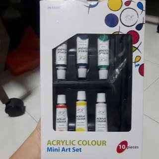Acrylic Colour Mini Art Set