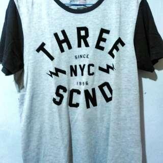 T shirt 3second