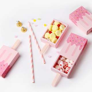 Sweets, chocolates, cookies box x 5 pcs