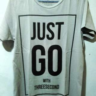 T shirt 3 second