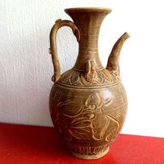 古老陶壶 Old clay pot 10寸高