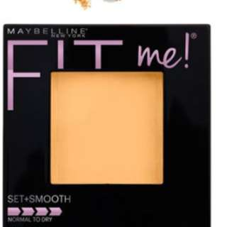 ​ Maybelline Fit Me Powder in Shade 220 (Set + Smooth Powder)