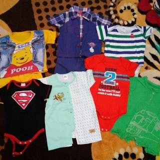 Baju Boys Bundle 7pcs #Bajet20