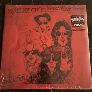 Sold. Motley Crue - Greatest hits. Vinyl Lp. New