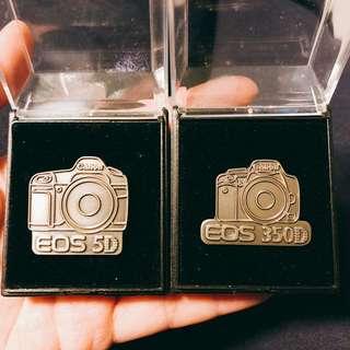 Canon EOS 5D & EOS 350D pin