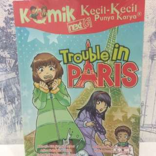 Komik KKPK Trouble In Paris