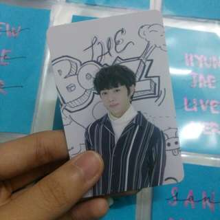 WTT only ^^ The Boyz Sunwoo Live Photocard