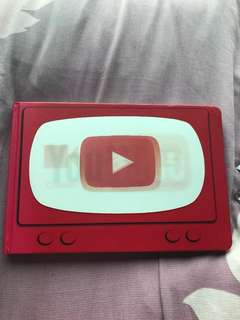 YouTube hard cover blank notebook