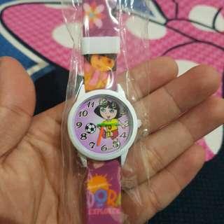 Jam tangan anak dora