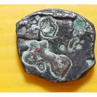 Ancient India - Copper Punch Mark ( Unattributed ) nearly 2000 years old , BUDDHA PERIOD - ap331