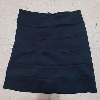 Linda Black Skirt