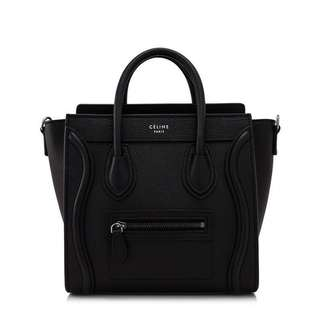 Celine Nano Luggage brand new ! In black!