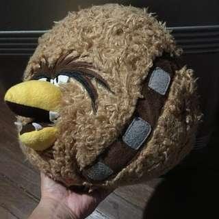 Star wars angry birds chewbacca plush