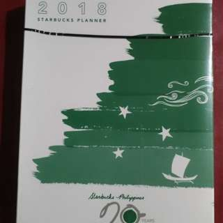Starbucks 2018 Planner (Green)