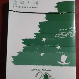 REPRICED! Starbucks 2018 Planner (Green)