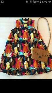 Moschino Umbrella Top: Kaleidoscope