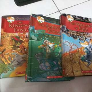 Geronimo Stilton $5-12