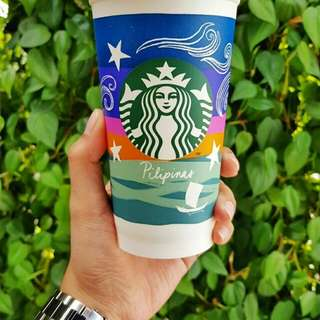 RUSH! STARBUCKS REUSABLE VINTA CUP