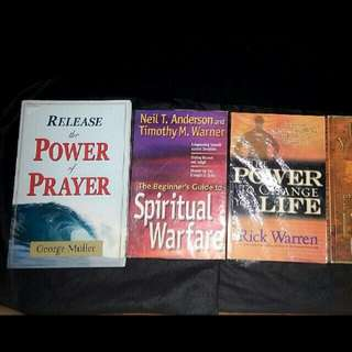 Release Power Of Prayer George Muller Beginner's Guide To Spiritual Warfare Neil T. Anderson & Timothy M. Warner Power to Change Your Life Rick Warren Bible Jesus Read Philip Yancey