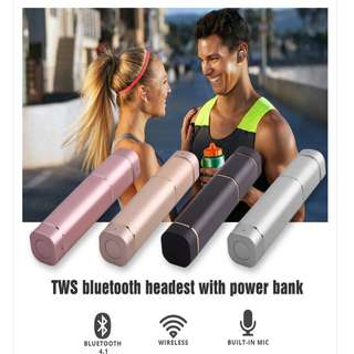 Mini K2 True Wireless Earbuds Bluetooth Earphone Sports Stereo Earpiece BT4.1 For iPhone Xiaomi Huawei Andriods Smart Phone