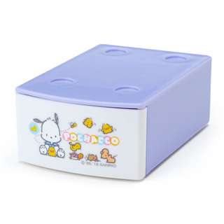 Japan Sanrio Pochacco Mini Stacking Case with Memo