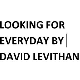 looking for everyday by david levithan