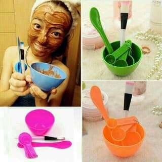 Mangkok masker 1 set +koas