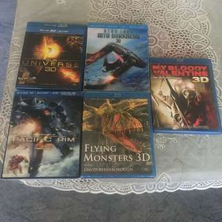 3D movies bluray format