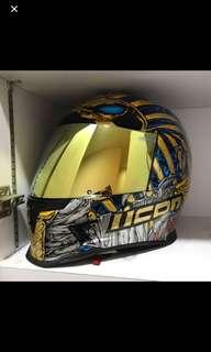 Icon pharaoh Helmet airframe