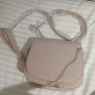 Miniso Peach Sling Bag