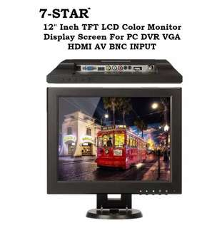 "12inch LED Monitor - 15"" inch LED Monitor - 19""inch LED Monitor Screen - 10inch LED monitor Screen - 8inch LED Monitor Screen (HDMI/VGA/BNC/AV) - Cctv Monitor"