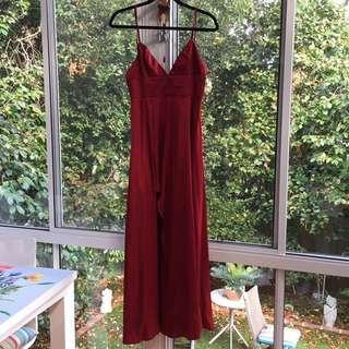 FORMAL RED WINE DRESS