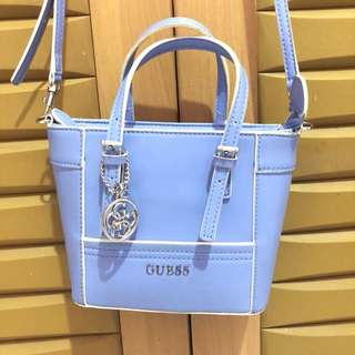 Guess sling bag baby blue
