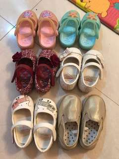 Various Baby Shoes