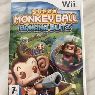 Monkey ball wii game
