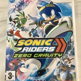 Sonic Riders Wii game