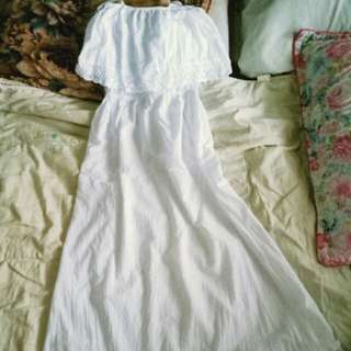 Coco Cabaña long White Dress