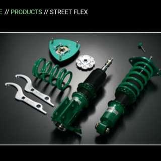Tein Street Flex Coilover Honda Fit Jazz GE 6 GE 8