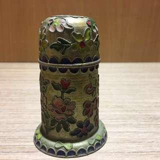 早期珐瑯收納盒 收納盒 珐瑯珠寶盒 珠寶盒 化妝盒