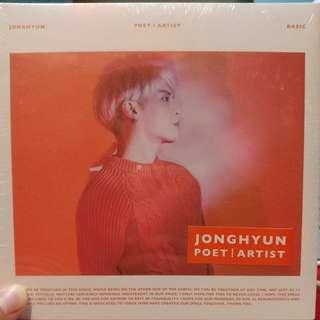 JONGHYUN-全新POET/ARTIST送海報
