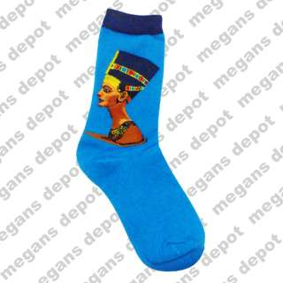 Nefertiti Painting Iconic Socks Style 1