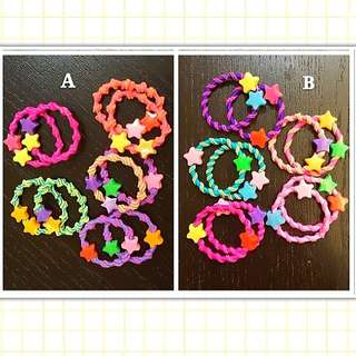 Hair Ties Rubber Bands Hair Clips Headbands
