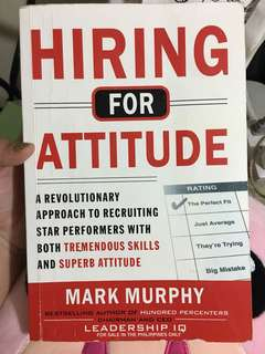 Hiring for Attitude Book