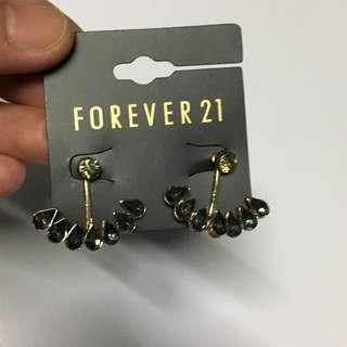 Gems Jacket Earrings