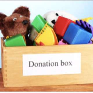 Donation old toys and children item