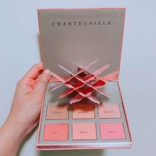 Chantecaille cheek and highlighter palette