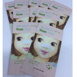 Green Tea Nose Pack dari Etude House