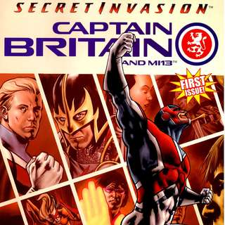 Captain Britain and MI13 #1-15 & Annual