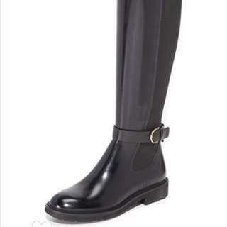 salvatore ferragamo long boots