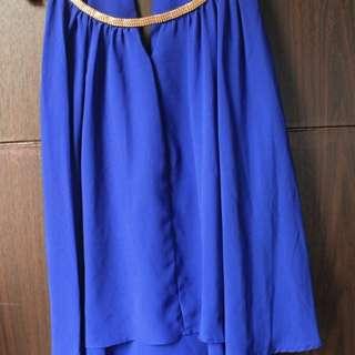 ❤BISA BARTER Baju bloose biru